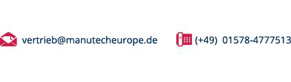 Email: vertrieb@manutecheurope.de Tel: (+49)  01578-4777513