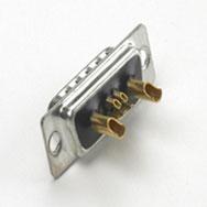 Power-D-Sub-Stecker und Buchsen in verschiedenen Ausführungen